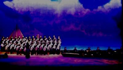 合唱演奏舞台